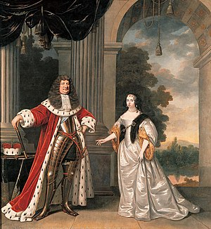"Prussia - The ""Great Elector"" and his wife"