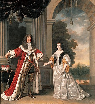 "The ""Great Elector"" and his wife Keurvorst Frederik Willem I en Louise Henriette van Oranje.jpg"