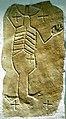 Keutschach Pfarrkirche hl. Georg vorrom. Steinreliefplatte mit menschl. Skelett 09062006 01.jpg