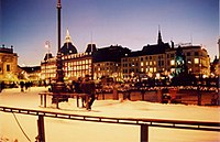 Kongens Nytorv in the wintertime