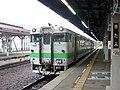 Kiha40 826 at Kitami Station.jpg