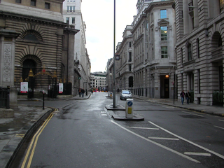 King William Street, London street in the City of London