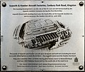 Kingston, Canbury Park Aircraft Factory plaque 1.jpg
