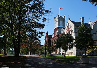 Queen's University - Theological Hall served as Queen's University's main building throughout the late 19th century