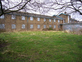 Beauchief and Greenhill - Old people's home which has closed, Lowedges, Sheffield February 2014