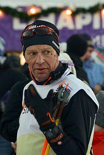 Harri Kirvesniemi Finnish cross-country skier