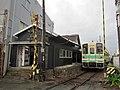 Kishu Railway KR205 at Nishi-Gobō Station 01.jpg