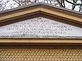 Kissinger Walhalla - Inschrift.JPG