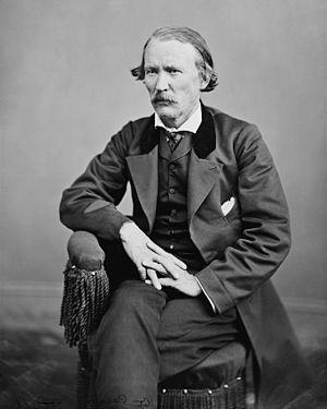First Battle of Adobe Walls - A photograph taken of Kit Carson shortly before his death in 1868.