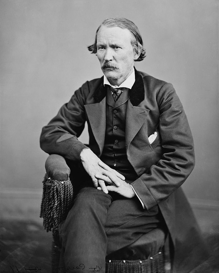Kit Carson photograph restored