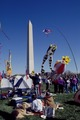 Kite festival on the National Mall at the Washington Monument, Washington, D.C LCCN2011632692.tif