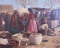 Kléh János Egy jó nap a piacon 1900 után.jpg