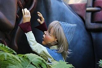 Hop-o'-My-Thumb - Hop-o'-My-Thumb, as shown at the Efteling.