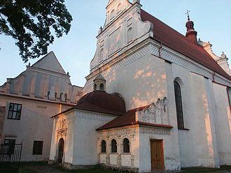 Lesser Polish Way - Image: Klimontow kosciol