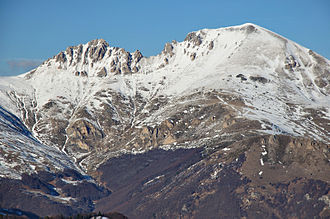 Šar Mountains - Šar Mountains peak Kobilica