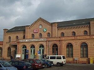 Königs Wusterhausen station - Station building