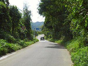 Marumori, Miyagi - Japan National Route 349 in Marumori