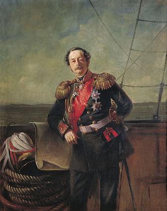 Nikolay Muravyov-Amursky - Nikolay Muravyov-Amursky (1863); portrait by Konstantin Makovsky