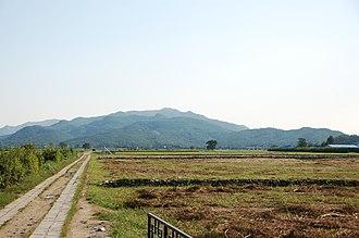 Hwangnyongsa - Image: Korea Gyeongju Hwangnyongsa 02