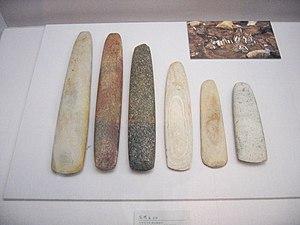 Prehistoric Korea - Korea Mesolithic age axes