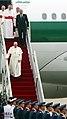 Korea Pope Francis Arrive Seoul Airport 02.jpg