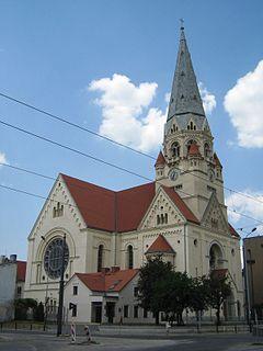 Church in Łódź, Poland