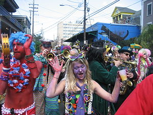 Mardi Gras - Celebrations in New Orleans, Louisiana, United States