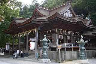 Kotohira, Kagawa Town in Shikoku, Japan