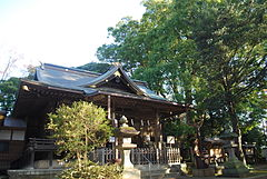 Kozaki-shrine and NanjyaMonjya,Kozaki-town,Japan.JPG