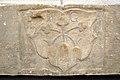 Kraig Propsteikirche Vorhalle Dreikleewappen 15102006 441.jpg