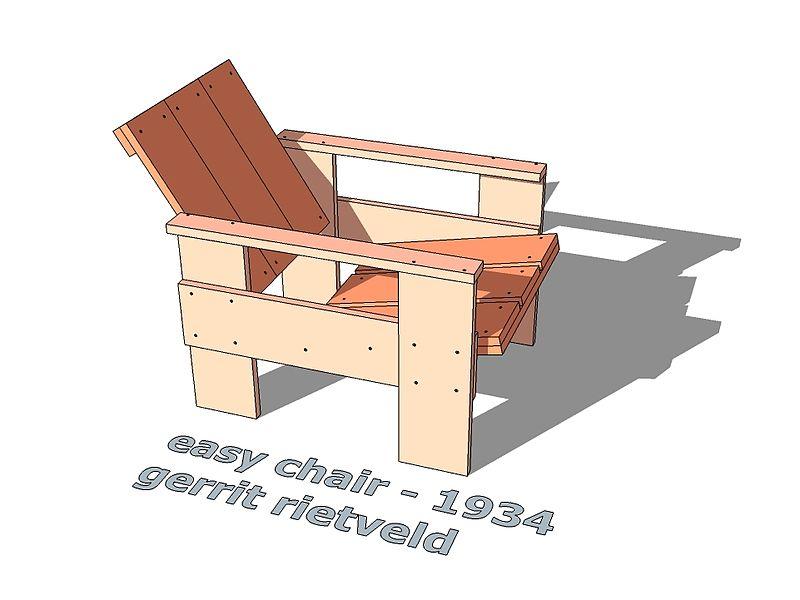 Gerrit Rietveld Kratstoel : Bestand kratstoel easy chair g wikipedia