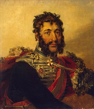 Yakov Kulnev - Portrait from the Military Gallery of Winter Palace.