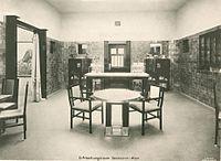 Kunstpalast, Raum 20 Erfrischungsraum Secession-Wien, Foto Otto Renard, 1902.jpg