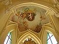 Kutná Hora, Sedlec, klášterní kostel, kaple, freska 01.jpg