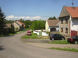 Kutrovce CZ main street towards N 183.jpg