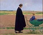 L'épouse en deuil par Jean-Pierre Laurens (A).jpg