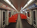 Länsimetro train from Tapiola to Keilaniemi completely empty.jpg
