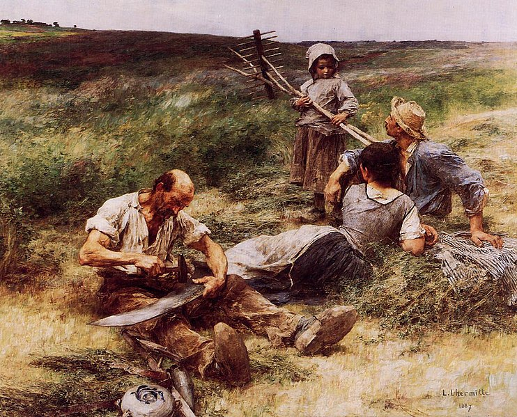 File:Léon Augustin Lhermitte, The Haymakers.jpeg