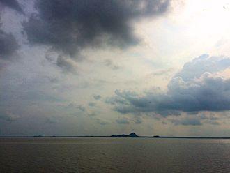 Karimnagar - Dense Clouds over LMD Reservoir at Karimnagar