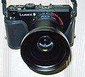 LUMIX LX3 with DMW LW46 18mm wide angle converter lens.JPG