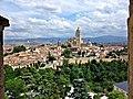 La Catedral desde la Torre del Homenaje del Alcázar - panoramio.jpg