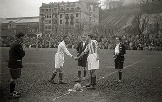 Atotxa Stadium - Frist match of Primera División in Atotxa 1929