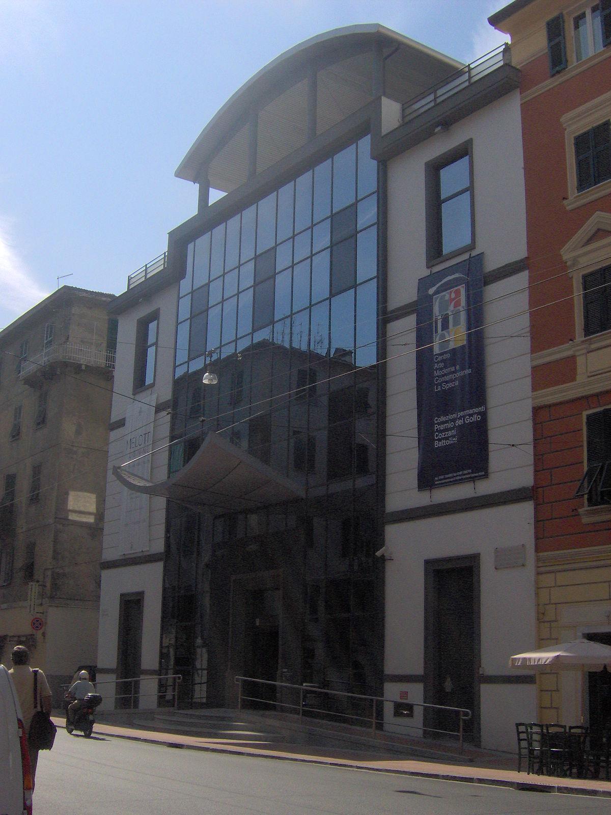 Centro d 39 arte moderna e contemporanea wikipedia for Marletto arredamenti la spezia