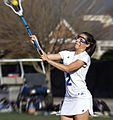Lacrosse CNU Christopher Newport University Captains Randolph-Macon Yellow Jackets women's lacrosse (25910530271).jpg
