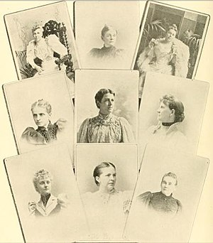 John G. Carlisle - Ladies of the Cabinet: Mrs Lamont, Mrs Olney, Mrs Bissell, Mrs Gresham, Mrs Cleveland, Mrs Carlisle, Mrs Herbert, Mrs Smith, Miss Morton