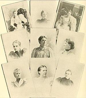 John G. Carlisle - Ladies of the Cabinet: Mrs Lamont, Mrs Olney, Mrs Bissell, Mrs Gresham, Mrs Cleveland, Mrs Carlisle, Mrs Herbert, Mrs Smith, Miss Morton