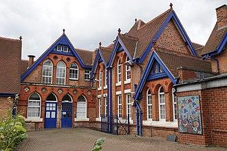 Ladypool Primary School - Entrance of school