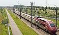 Lage Zwaluwe Thalys 4322 naar Paris Nord (achterzijde) (9178637064).jpg