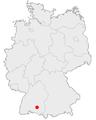 Lage von Mengen in Deutschland.png
