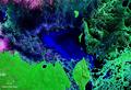 Laguna Uberaba Bolivia Brasil Satellite map 57.80521W 17.png